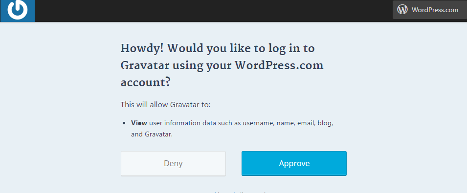 How to add an avatar using Gravatar